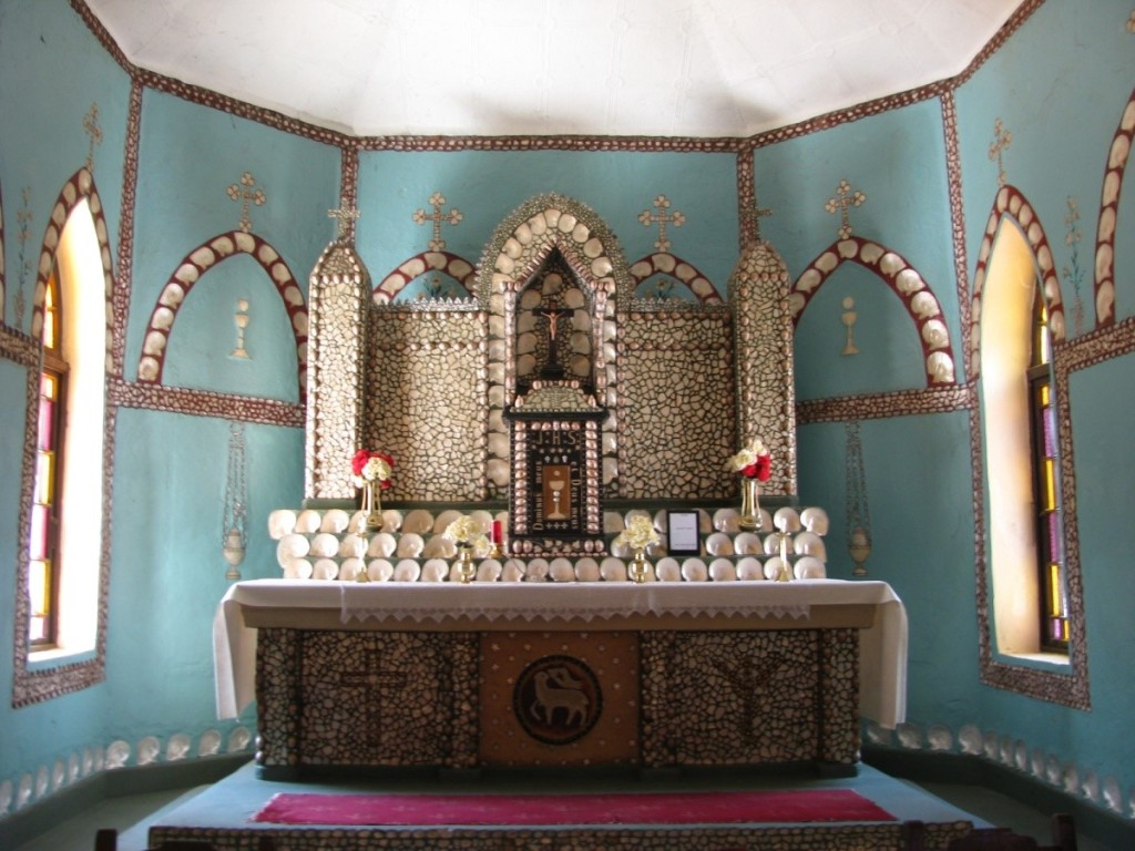 Pearl Shell Altar Eagle Bay
