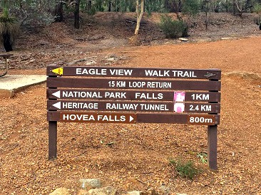 John Forrest National Park walking trails