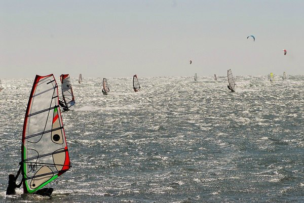 Windsurfing Coronation Beach