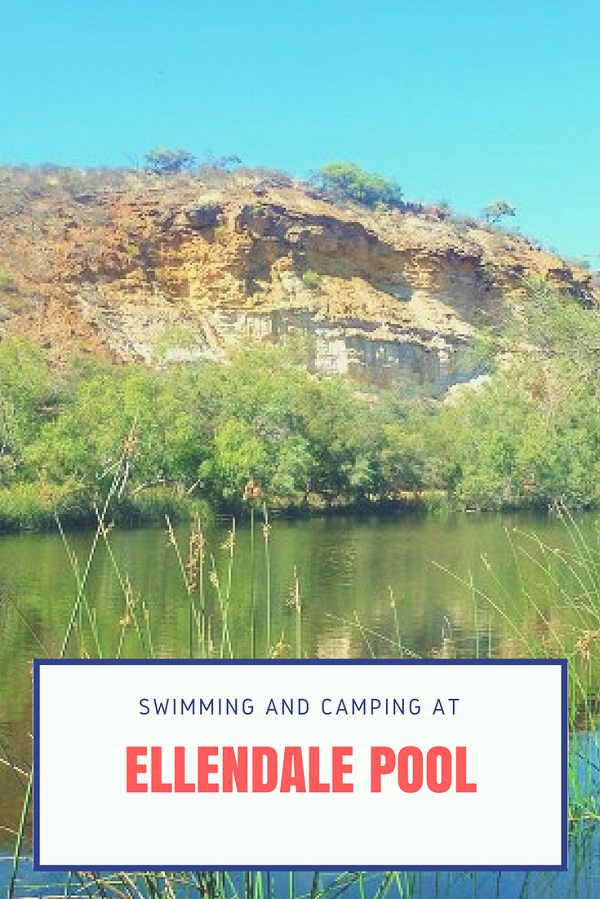 Swimming and camping at Ellendale Pool
