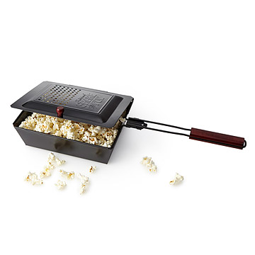 Outdoor popcorn maker