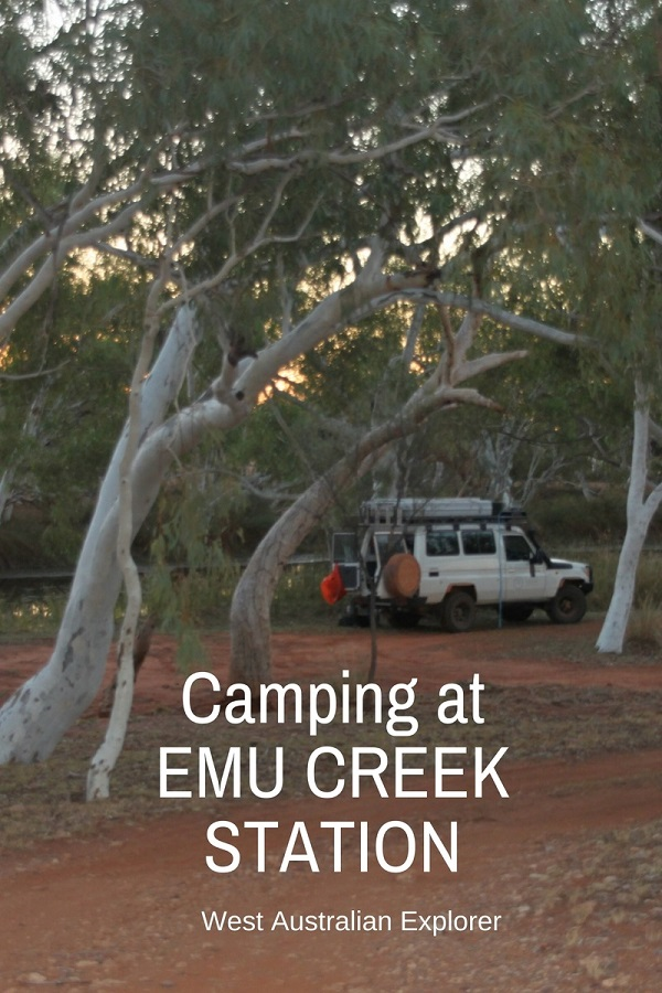 Camping at Emu Creek