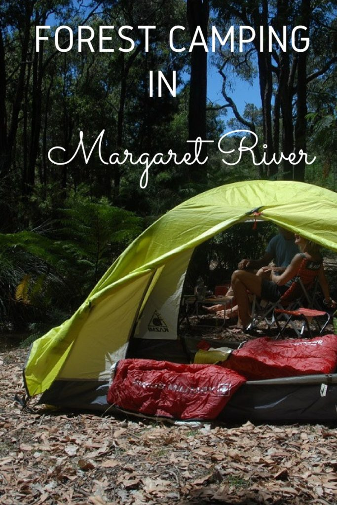 Camping in Margaret River