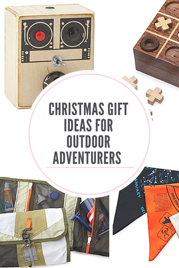 Christmas gift ideas for outdoor adventurers