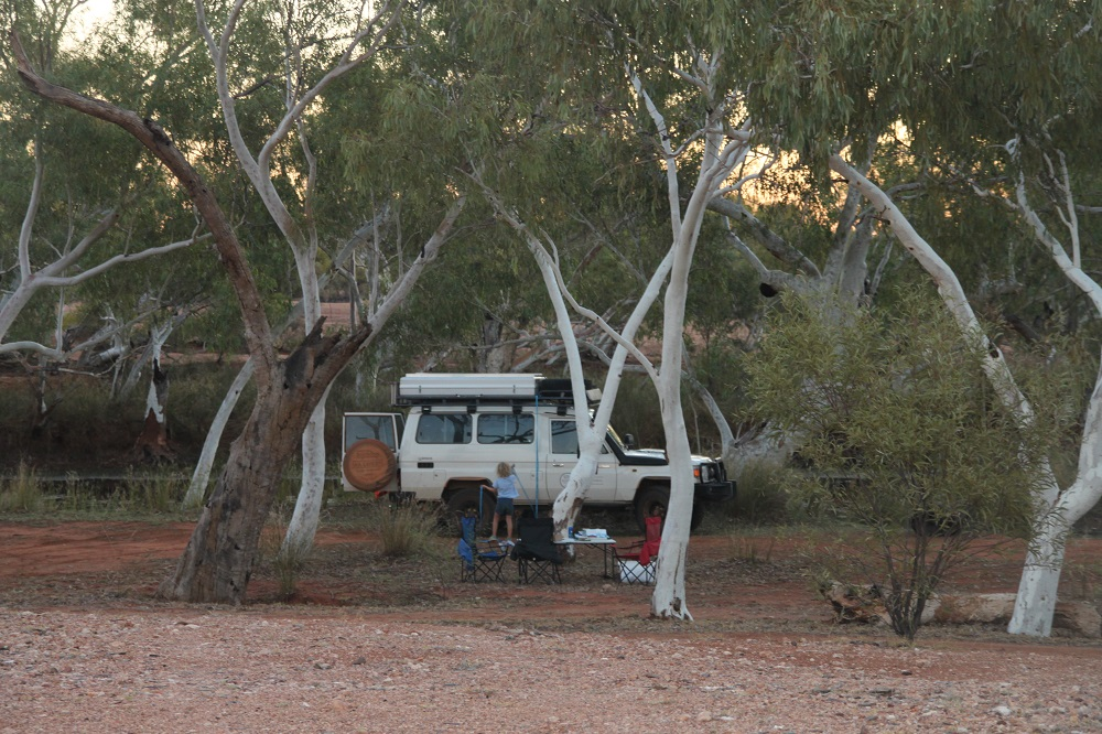 Campervan hire in Perth