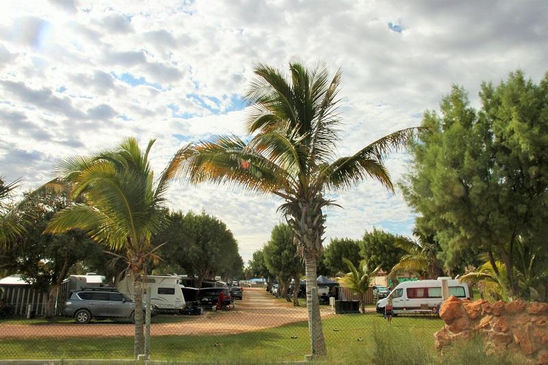 Caravan Park Coral Bay