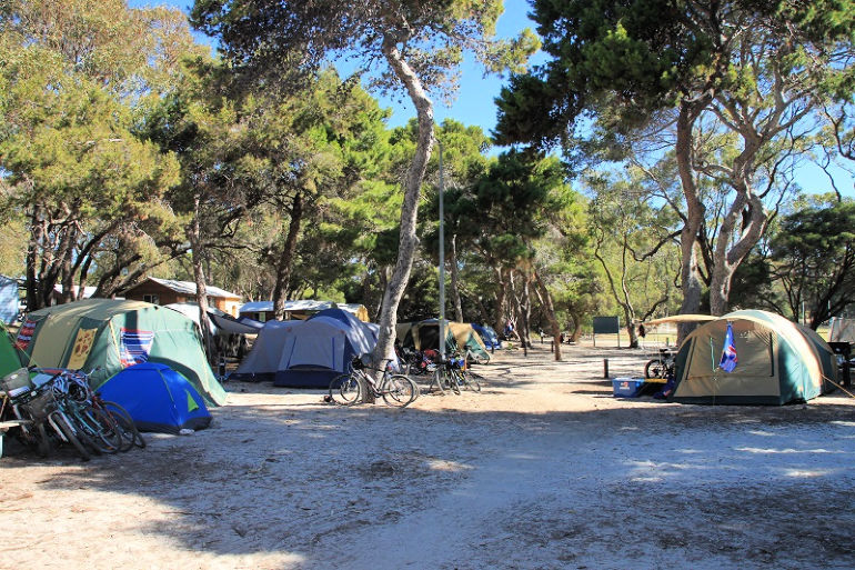 Camping Rottnest