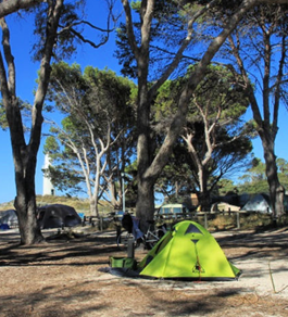 Our stay at People's Park Caravan Park in Coral Bay – West