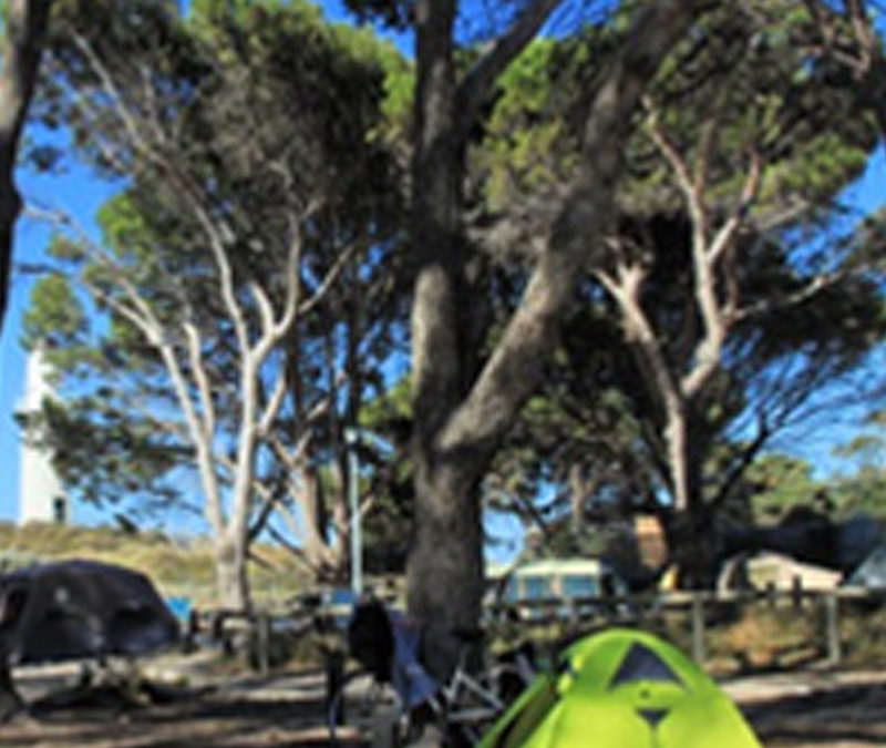 camping on Rottnest Island