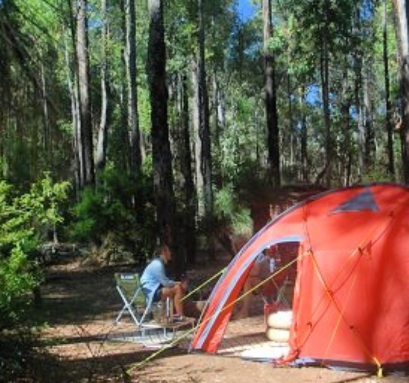 Camping near Perth